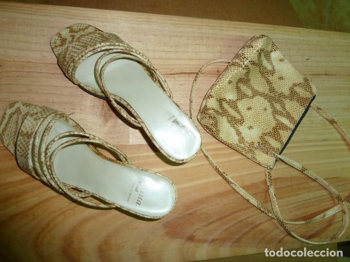Sandalias Con Bolso Zapatos; A JuegoNº37 oxQWrCBde