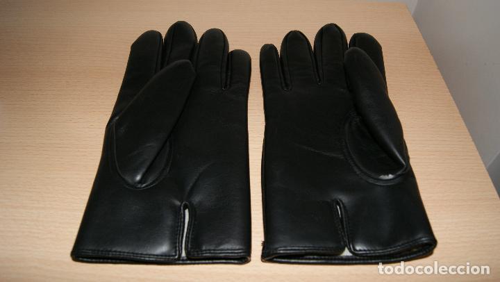 Vintage: Guantes de piel en negro. - Foto 2 - 121421095