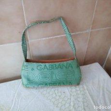 Vintage: PRECIOSO BOLSO BONITO COLOR DE DOLCE & GABBANA ORIGINAL,VERDE.. Lote 121474731