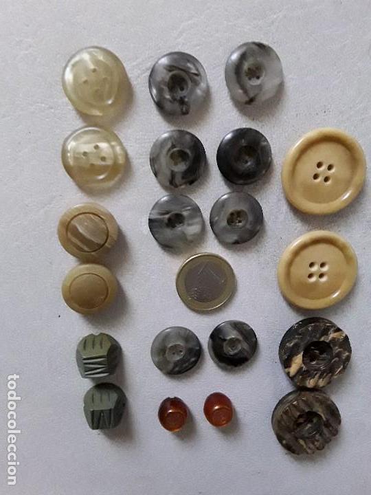 Vintage: Lote de 144 botones vintage - Foto 3 - 122206047