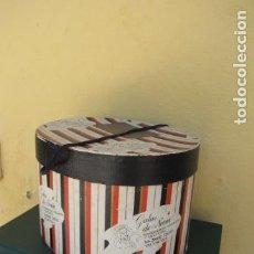 Vintage: CAJA DE SOMBRERO VALENCIA. AÑOS 50. Lote 122584415