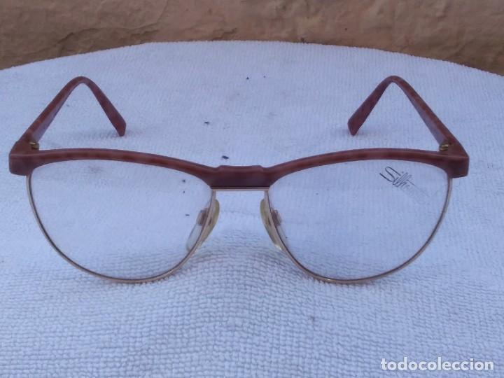 Gafas (SILHOUETTE, made in Austria. M 6081. V6055) quedan muy bien con cristales de sol. segunda mano
