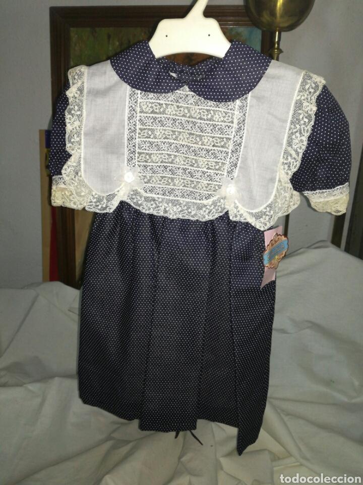 VESTIDO DE NIÑA TALLA 24 MESES SIN USO (Vintage - Moda - Mujer)