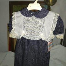 Vintage: VESTIDO DE NIÑA TALLA 24 MESES SIN USO. Lote 123285062