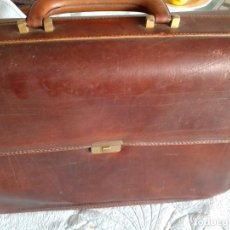 Vintage: VINTAGE MALETIN PIEL CERRADURA AMIET. Lote 124073827