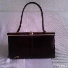 Vintage: BOLSO DE PIEL AÑOS 60. Lote 219743296