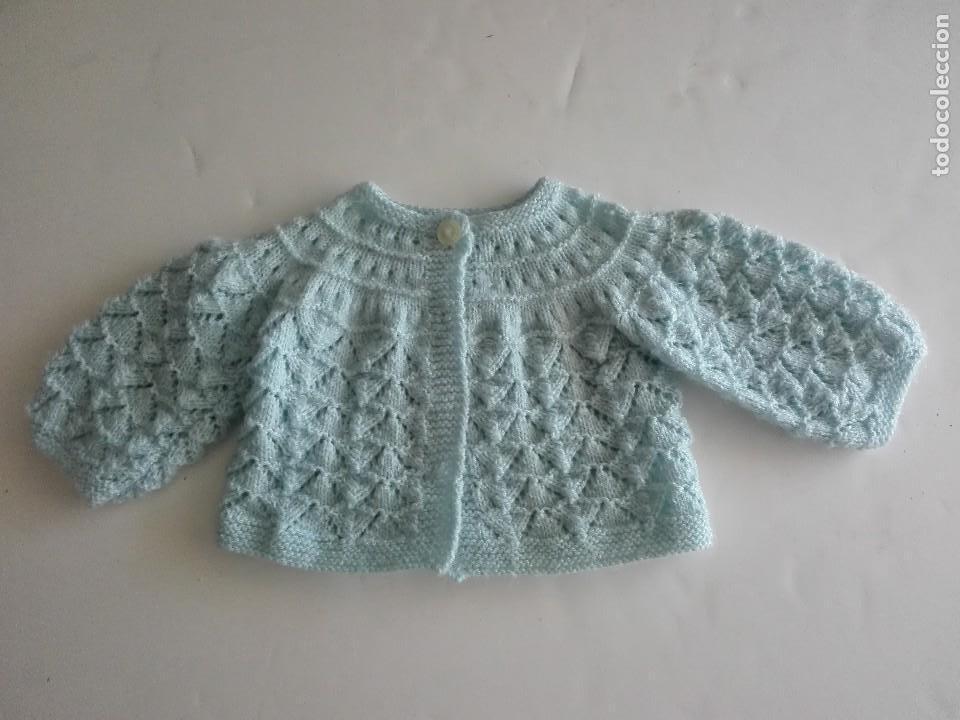 Jersey de punto chaqueta - lana celeste - niño - Sold through Direct ... 46c3134bc5d5
