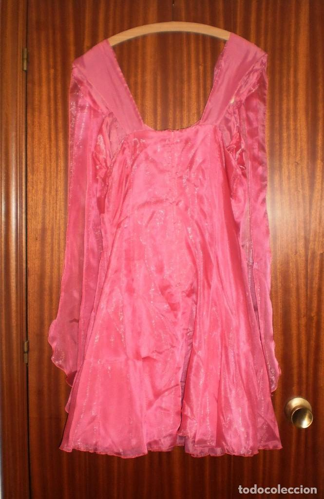 vestido rosa fiesta vintage. talla 46. años 198 - Comprar Moda ...