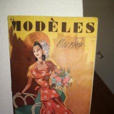 Vintage: REVISTA MODA EN FRANCIA - VERANO 1949 - MODÈLES - ETÉ 1949. Lote 128780807