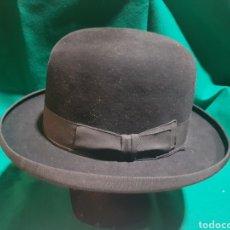 Vintage: ANTIGUO GORRO TIPO BOMBÍN. Lote 128980012