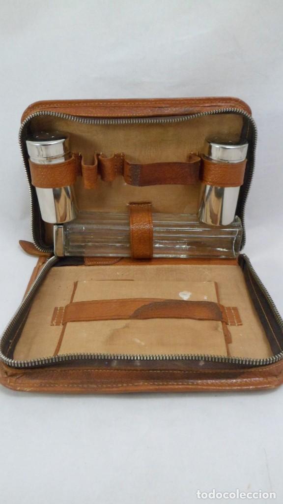 a11af5765 Vintage: NECESER DE VIAJE DE CABALLERO AÑOS 50-60 - Foto 2 - 128997455