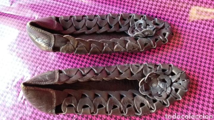 Vintage: Zapatos de piel - Foto 4 - 129334922