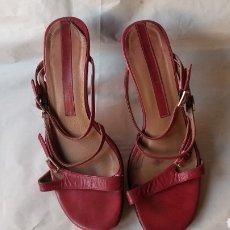 Vintage: SANDALIAS DE PIEL. Lote 129335700