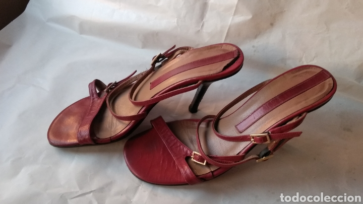Vintage: SANDALIAS DE PIEL - Foto 2 - 129335700