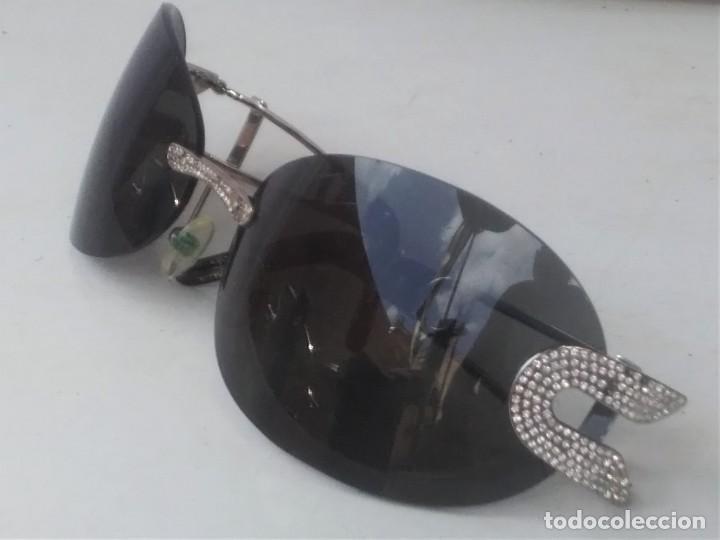 Vintage: Gafas GIANFRANCO FERRE. (GF68801) para respuestos. Cristal mal es UTtado.varillas buen estado. - Foto 5 - 130487738