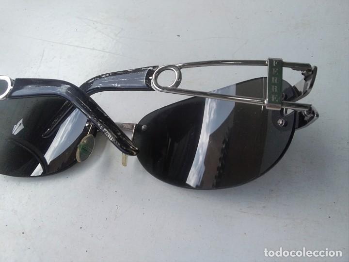 Vintage: Gafas GIANFRANCO FERRE. (GF68801) para respuestos. Cristal mal es UTtado.varillas buen estado. - Foto 8 - 130487738