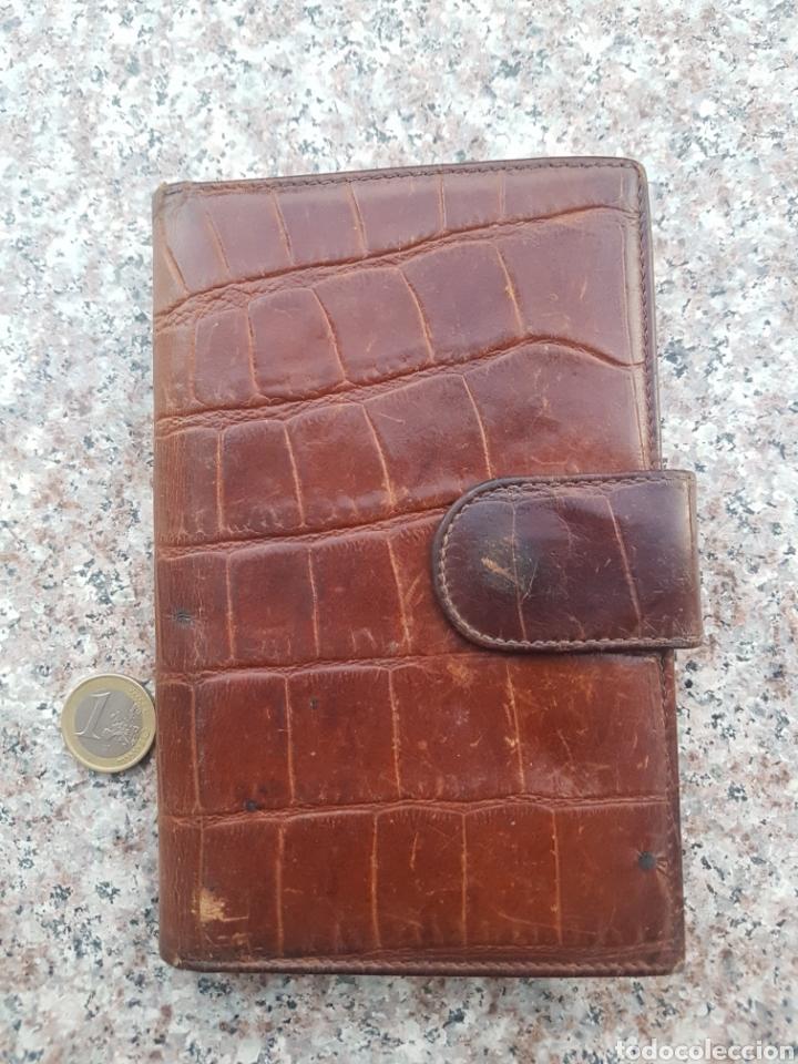 Vintage: Cartera billetera piel mujer - Foto 2 - 131066465