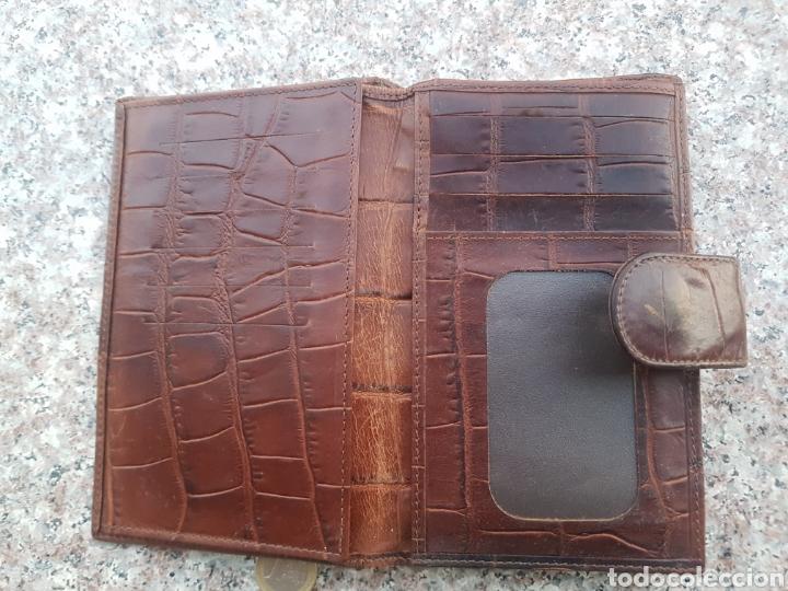 Vintage: Cartera billetera piel mujer - Foto 3 - 131066465