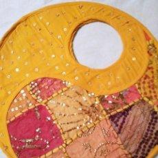 Vintage: BOLSA DE TELA HIPPIE, AÑOS 60. SIN USO. Lote 131073204