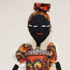 Vintage: BONITA NEGRITA (NIGERIANA),DE PAÑO.. Lote 131536574