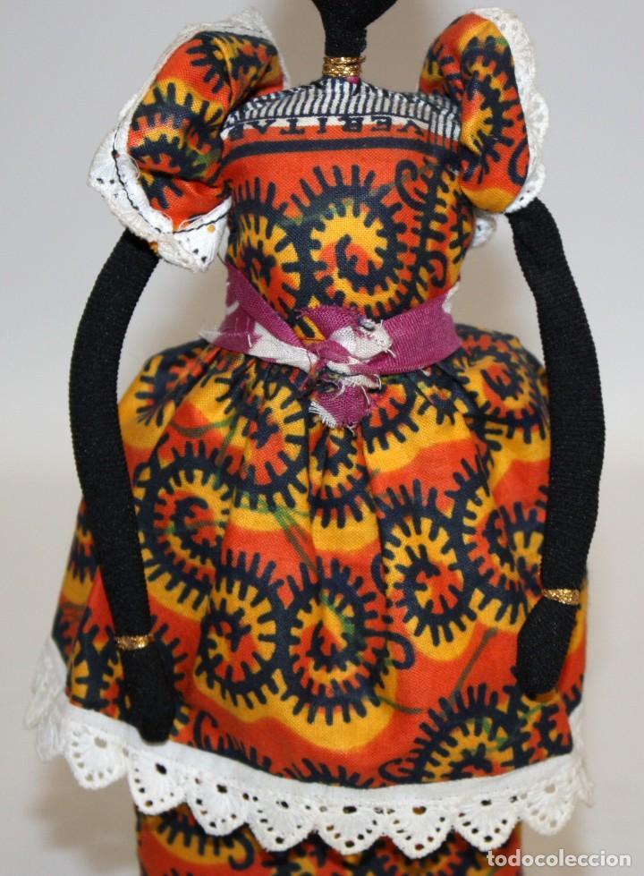 Vintage: BONITA NEGRITA (NIGERIANA),DE PAÑO. - Foto 4 - 131536574