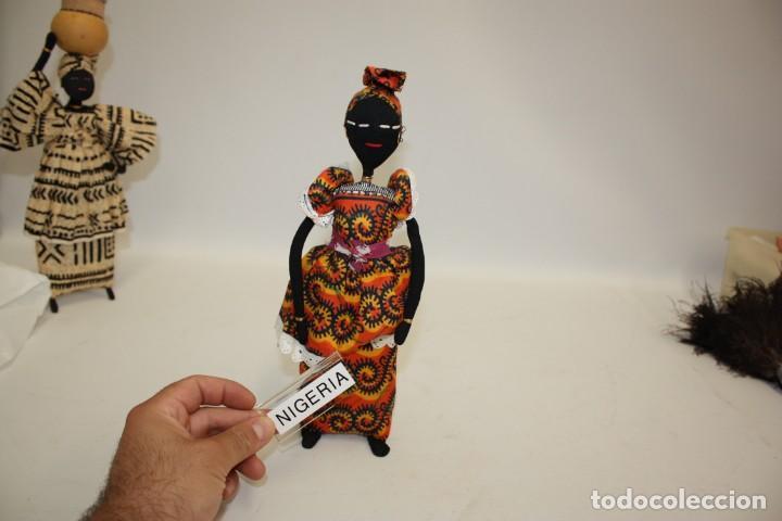 Vintage: BONITA NEGRITA (NIGERIANA),DE PAÑO. - Foto 5 - 131536574