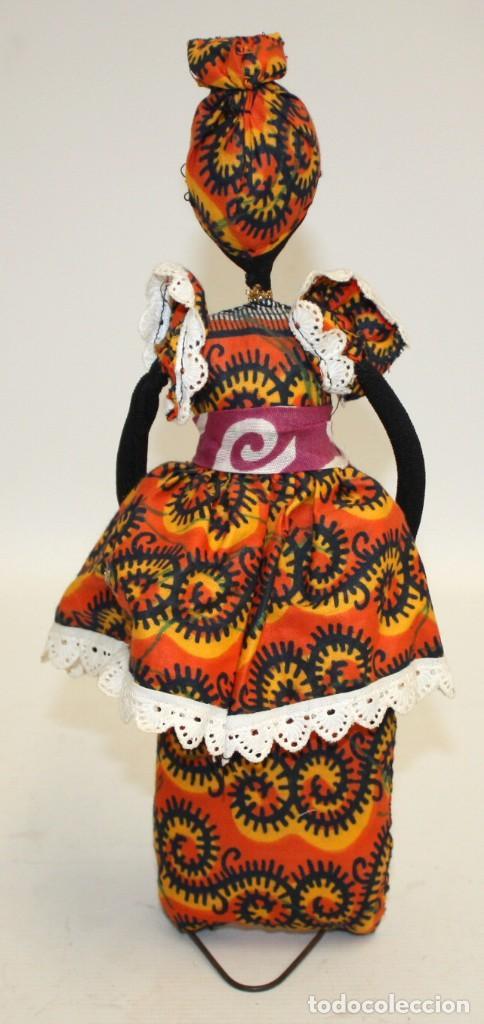 Vintage: BONITA NEGRITA (NIGERIANA),DE PAÑO. - Foto 6 - 131536574