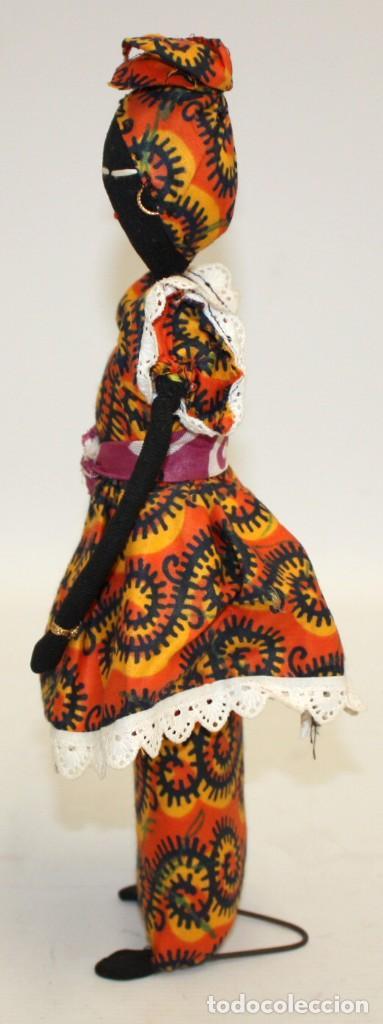 Vintage: BONITA NEGRITA (NIGERIANA),DE PAÑO. - Foto 7 - 131536574