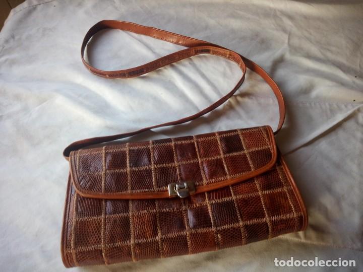 Piel Milano Serpiente In Bolso Vintage Buy Niki De Made A1OwxxqZn