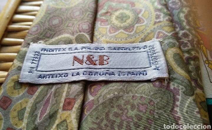 Vintage: Lote de 5 corbatas de seda - Foto 3 - 131627119
