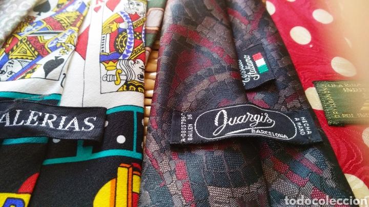 Vintage: Lote de 5 corbatas de seda - Foto 5 - 131627119
