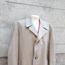 Vintage: GABARDINA AÑOS 60 TALLA 56 COLOR BEIGE GRISÁCEO. Lote 131701722