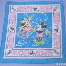 Vintage: BANDANA MICKEY Y MINNIE MOUSE AÑOS 80. Lote 132768670