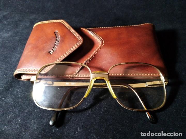 ANTIGUAS GAFAS BOSCH GRADUADAS CON FUNDA DAVILETTO. (Vintage - Moda - Complementos)