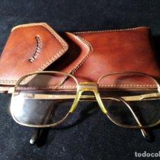 Vintage: ANTIGUAS GAFAS BOSCH GRADUADAS CON FUNDA DAVILETTO.. Lote 132794690