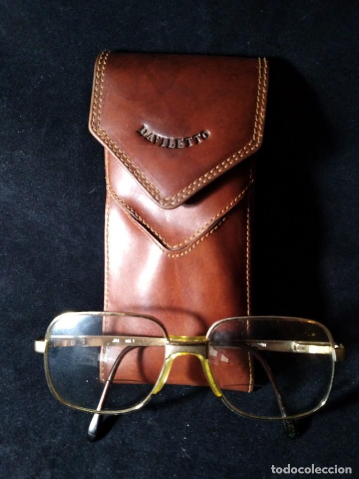 Vintage: Antiguas gafas Bosch graduadas con funda Daviletto. - Foto 2 - 132794690