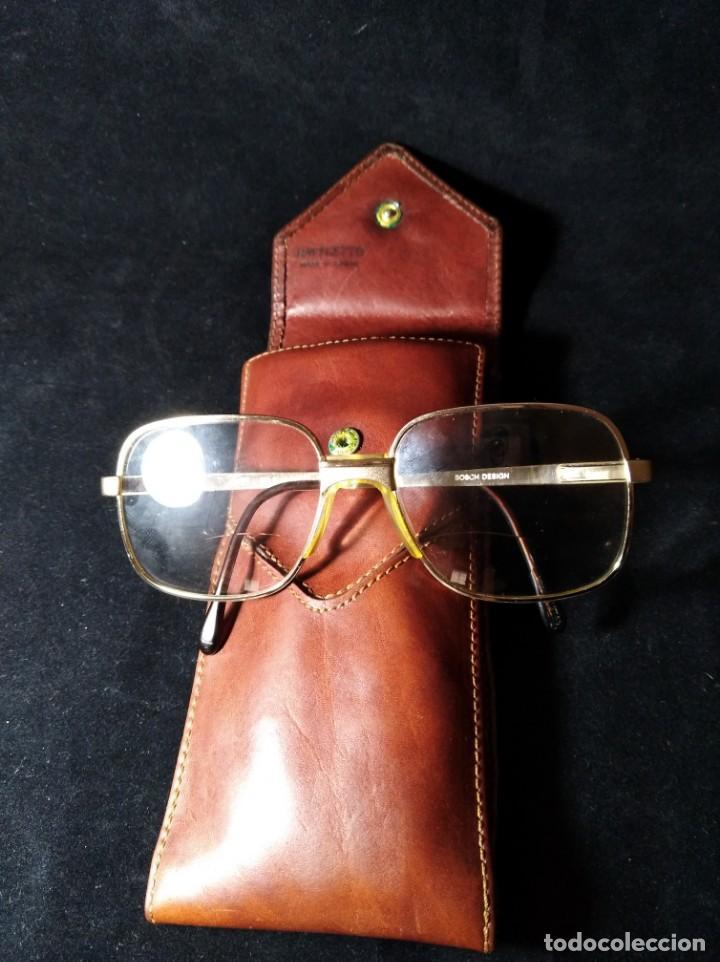 Vintage: Antiguas gafas Bosch graduadas con funda Daviletto. - Foto 5 - 132794690