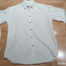 Vintage: CAMISA VINTAGE ZARA SLIM FIT TALLA L. Lote 132959842