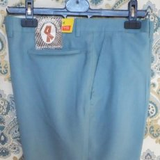 Vintage: LOTE 56 PANTALONES DE TERGAL DE LOS AÑOS 70 - TALLAS 40 - 54. Lote 134743774