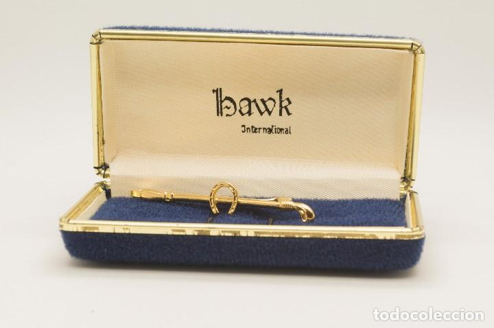 Vintage: PISACORBATAS BAWK 1940 CON MOTIVOS EQUINOS - Foto 3 - 134862858