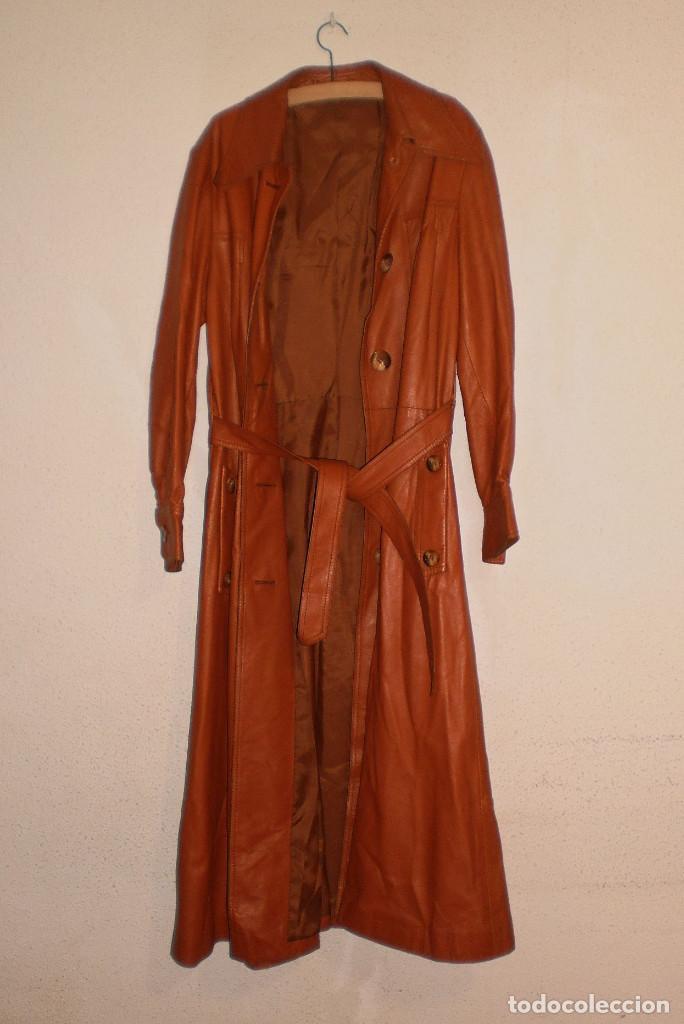 KILGUS - CHAQUETÓN PIEL VACUNO. PROCEDENTE DE ALEMANIA. DISEÑO DÉCADA 1980 (Vintage - Moda - Mujer)