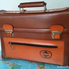 Vintage: CARTERA ESCOLAR CLÁSICA JHA, AÑOS 70. Lote 135845062