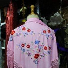 Vintage: FULAR DE MANILA. Lote 135887250