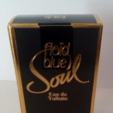 Vintage: FLOID BLUE SOUL .EAU DE TOILETTE.FRASCO ENTRE 25/30 ML.. Lote 136590926