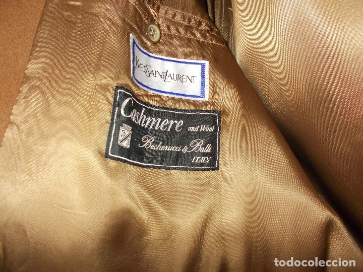 Vintage: Abrigo caballero Yves Saint Lauren - Foto 4 - 112151480