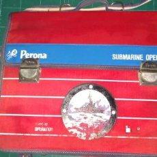 Vintage: CARTERA COLEGIO PERONA SUBMARINE OPERATION CLAVE X2 AÑOS 70.. Lote 138558462