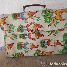 Vintage: ANTIGUA CARTERA DE COLEGIO. Lote 138560110