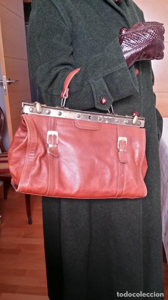 de color marrón Moda he cognac Comprar mujer bolso cuero 5gptwxq4