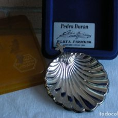 Vintage: PLATA CONCHA BAUTIZO PEDRO DURAN. Lote 139317322