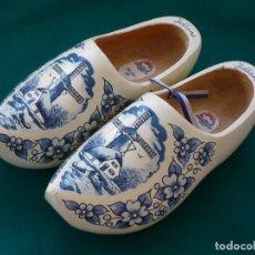 Vintage: ZANCO MADERA ARTESANIA HOLANDESA. 25CM Nº39.. Lote 139588078